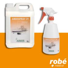 Aniospray pour la désinfection rapide