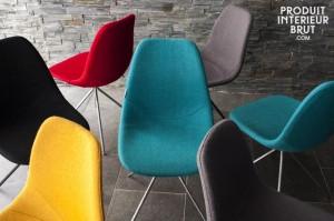 Die Stühle Piramis, eine skandinavische Interpretation der 60er Jahre, erhältlich bei www.pib-home.de