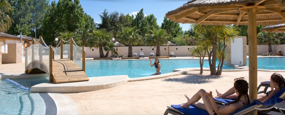 Camping Argelès piscine