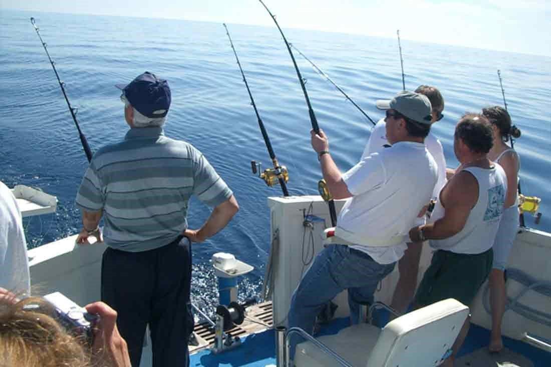 Pêche en haute mer au départ de Mandelieu